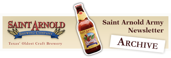 Saint Arnold Army Newsletter - Archive